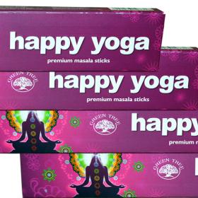 Happy Yoga – bețișoare cu esențe naturale green tree