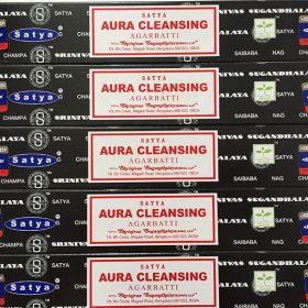 Aura Cleansing – bețișoare cu esențe naturale satya