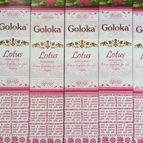 Goloka Lotus – bețișoare cu esențe naturale