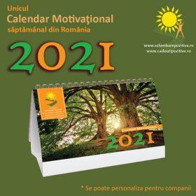 Calendar motivațional – 2021