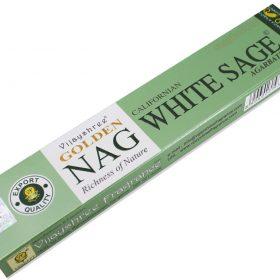 Golden Californian Nag White Sage – bețișoare parfumate naturale salvie