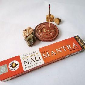 Golden Nag Mantra – bețișoare cu esențe naturale