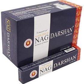 Golden Nag Darshan – bețișoare cu esențe naturale