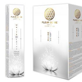 White Lotus – bețișoare parfumate naturale Fleur de Vie