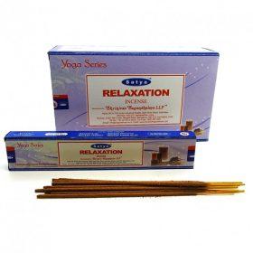Relaxation – bețișoare parfumate naturale Satya