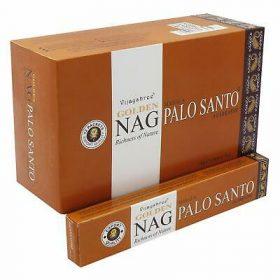 Golden Nag Palo Santo – bețișoare parfumate naturale